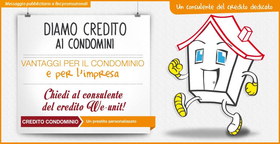 Credito Condominio - Weunit