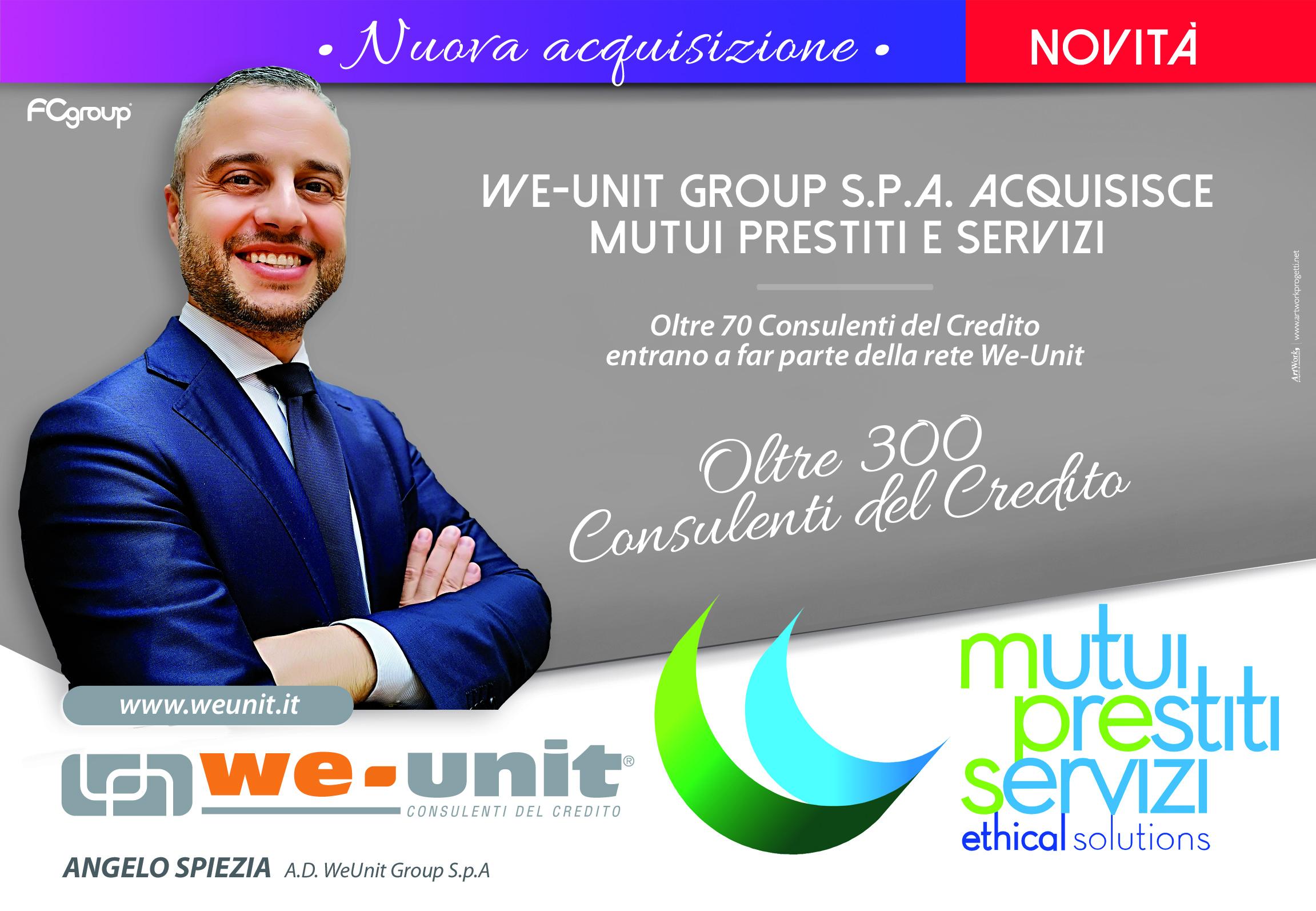 Nuova acquisizione Weunit