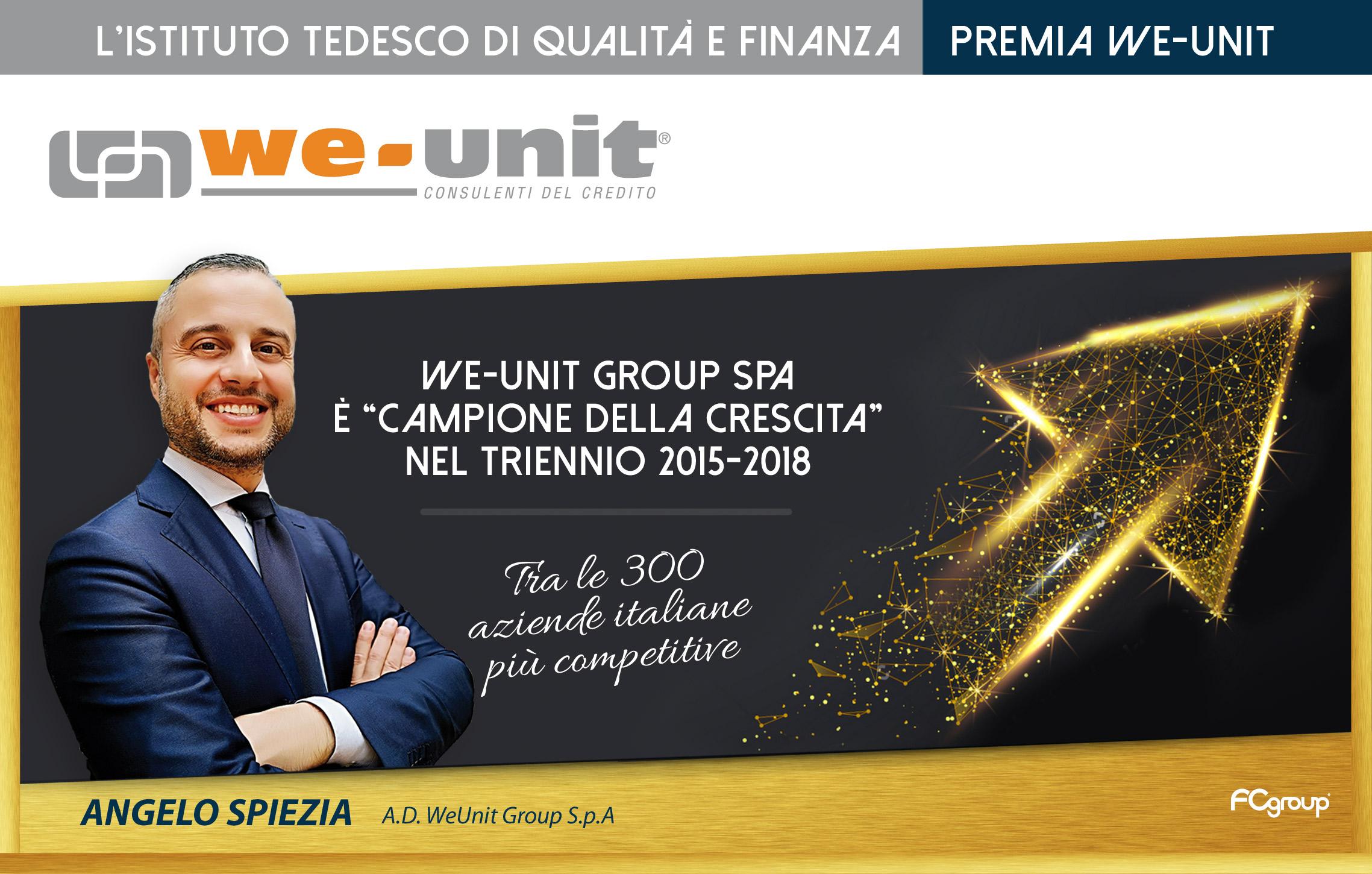 Premio crescita weunit